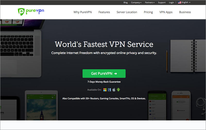 Best VPN for China: PureVPN