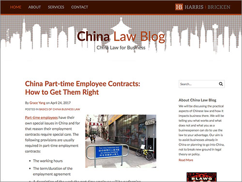 Top China Blogs: China Law Blog