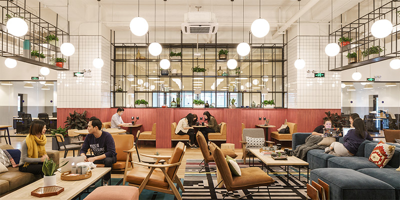 Top Coworking Spaces in Shanghai: WeWork